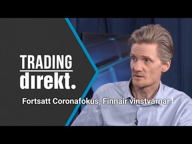 Trading Direkt 2020-02-28: Teknisk analys på febriga flygbolag och tillbakablick tidigare kriser