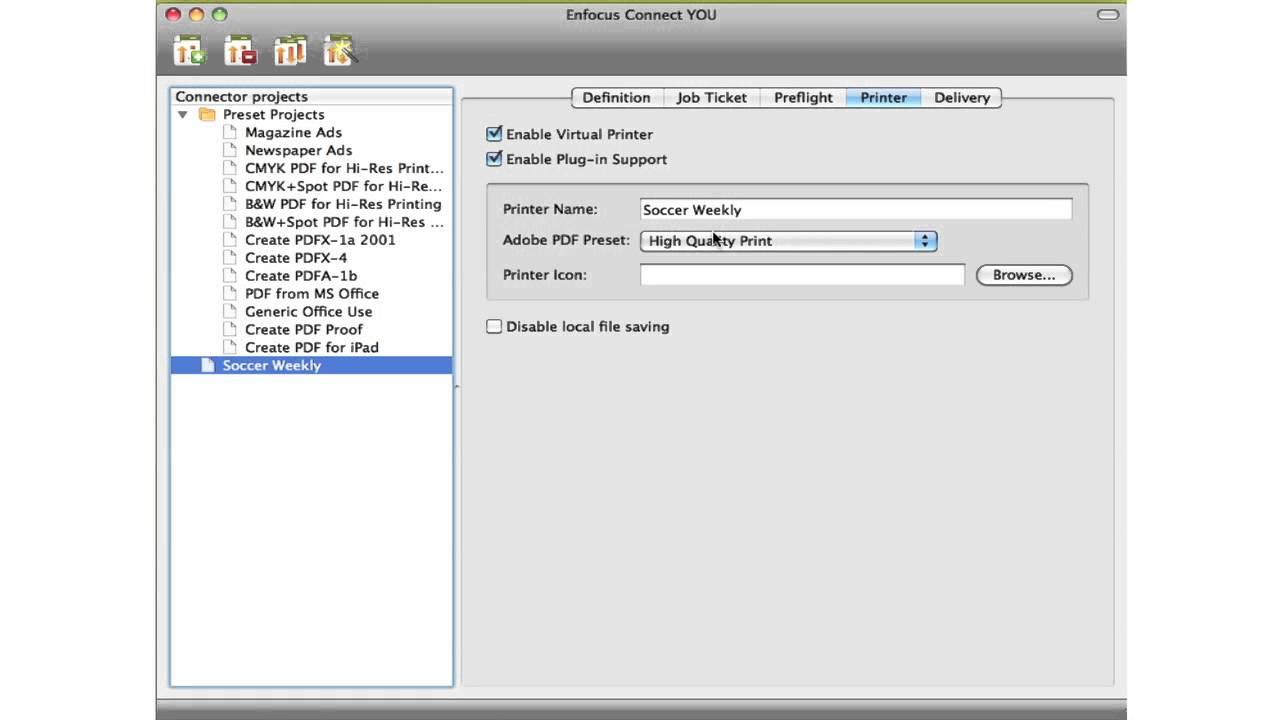 Enfocus instant pdf 2.0 ip2.0 vl 100