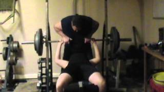 14 year old Freshman bench press 355