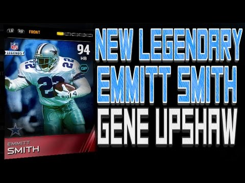 #MUT15 | NEW 94 Overall Legendary Emmitt Smith & 92 Overall Gene Upshaw | Legendary Bundle?