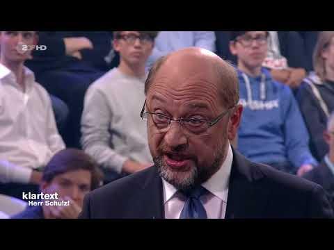 Martin Schulz zur Mietpreisbremse - Klartext Herr Schulz | ZDF