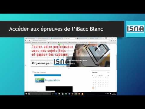 Guide de participation - iBACC Blanc - ISNA Antananarivo