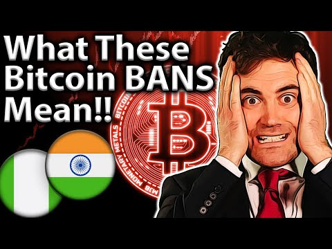 Latest BITCOIN BANS!! Potential Price Impact?? 😨