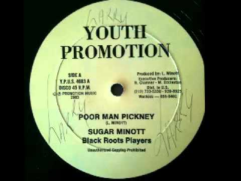 SUGAR MINOTT - Poor man pickney discomix (1983 Youth promotion)