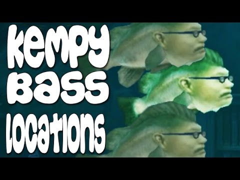 Hungry Shark Evolution - 3 Kempy Bass Locations