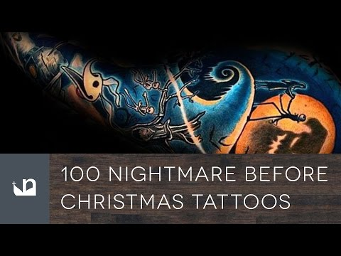 100 Nightmare Before Christmas Tattoos For Men