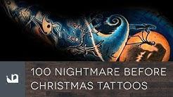 100 Nightmare Before Christmas Tattoos For Men