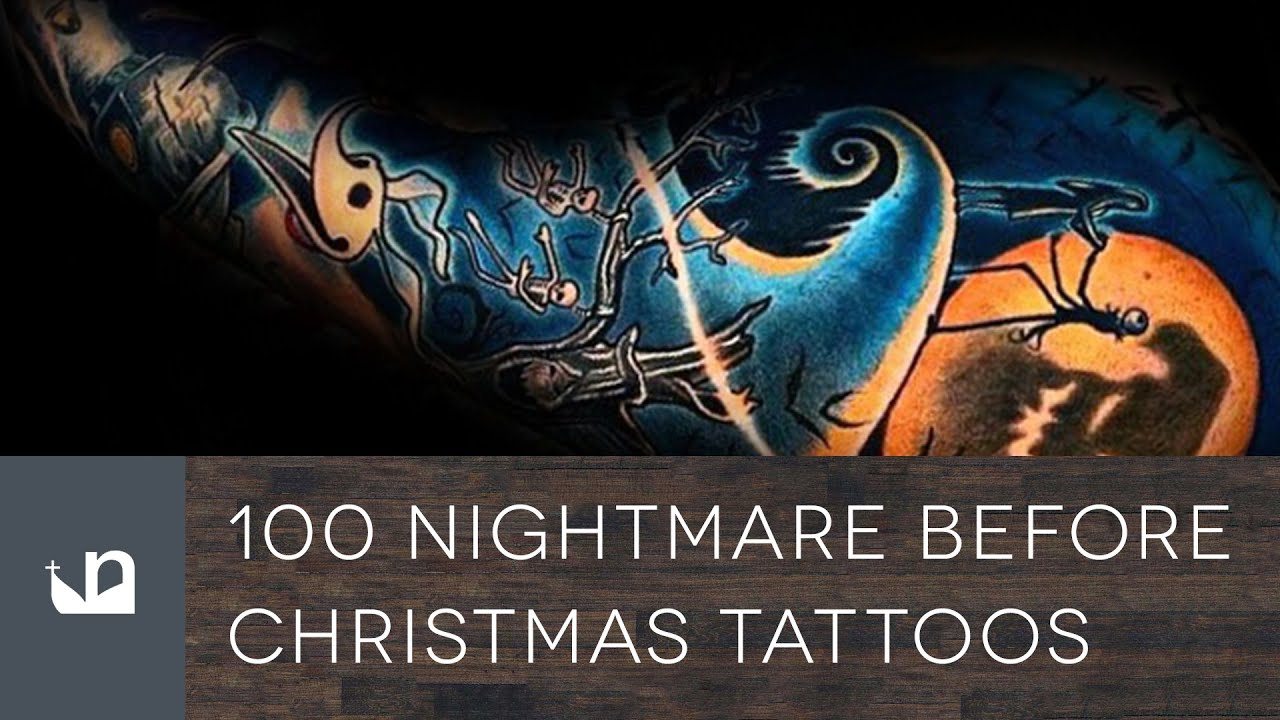 100 Nightmare Before Christmas Tattoos For Men - YouTube