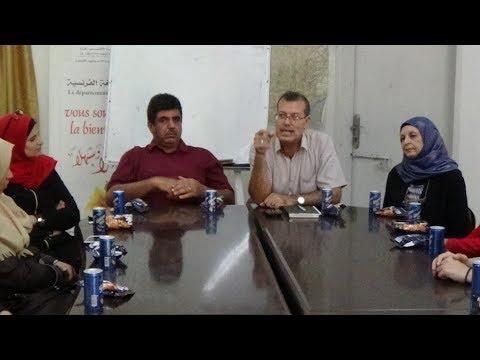Le département de français - Gaza accueille les nouveaux étudiants