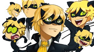 20 Art Styles Challenge--Cat Noir--THANK  YOU FOR +5,000 SUBS!!!!