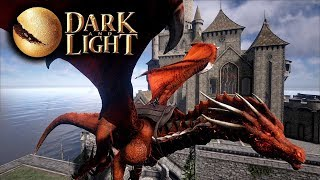 Dark and Light - Raiding The Human Town with my Infernus Dragon! (Dark and Light Gameplay Part 27)