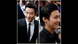 The chinese actor Huang Xuan 黄轩and the japanese actor Nomura Shuh...