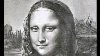 Mona Lisa speed draw