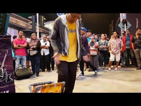 rindu-nurul feat Redeem buskers cover Amelina,goyang asyik