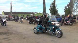 IX Hubertus w Jakubowie-parada motocykli
