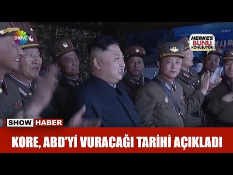 Kore, ABD'yi vuracağı tarihi açıkladı