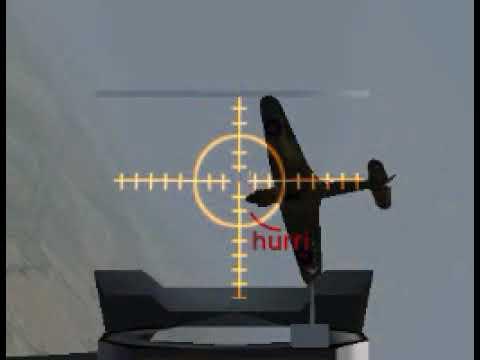 World War II Online 2004 guncam -=ICE=- patrol Bf 109 1.3.2004