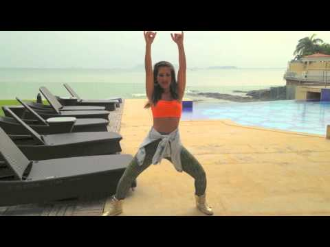 "Zumba with Shlomit Salo   ""Baby Danger"" by Wisin & Sean Paul"