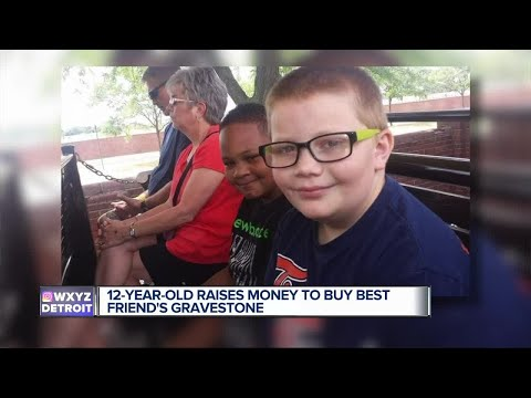 Ron Verb - A 12-Year-Old Boy Raises $2,500 To Pay For Best Friend's Headstone