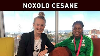 Noxolo Cesane from Gugulethu made her Banyana Banyana debut at the 2019 Cosafa Women's Championship. The 18-year-old defender helped the national women's side to a third straight title in a row.