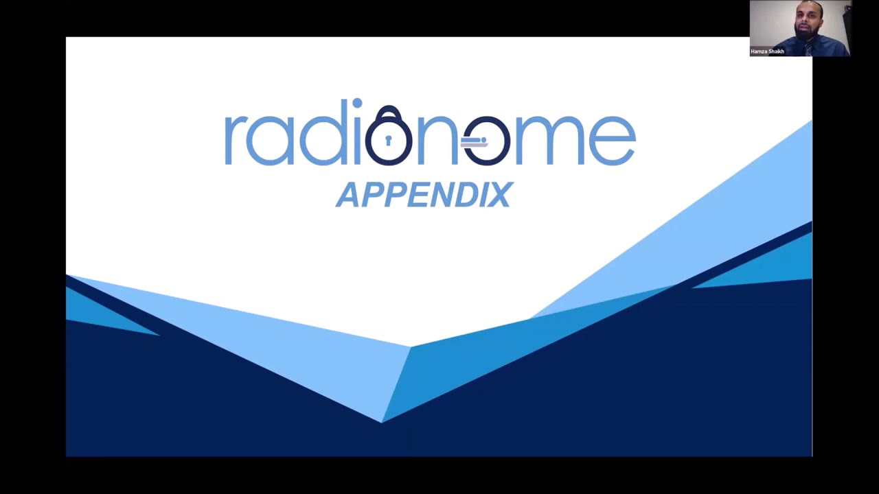 Secure digital cloud sharing platform - Radionome