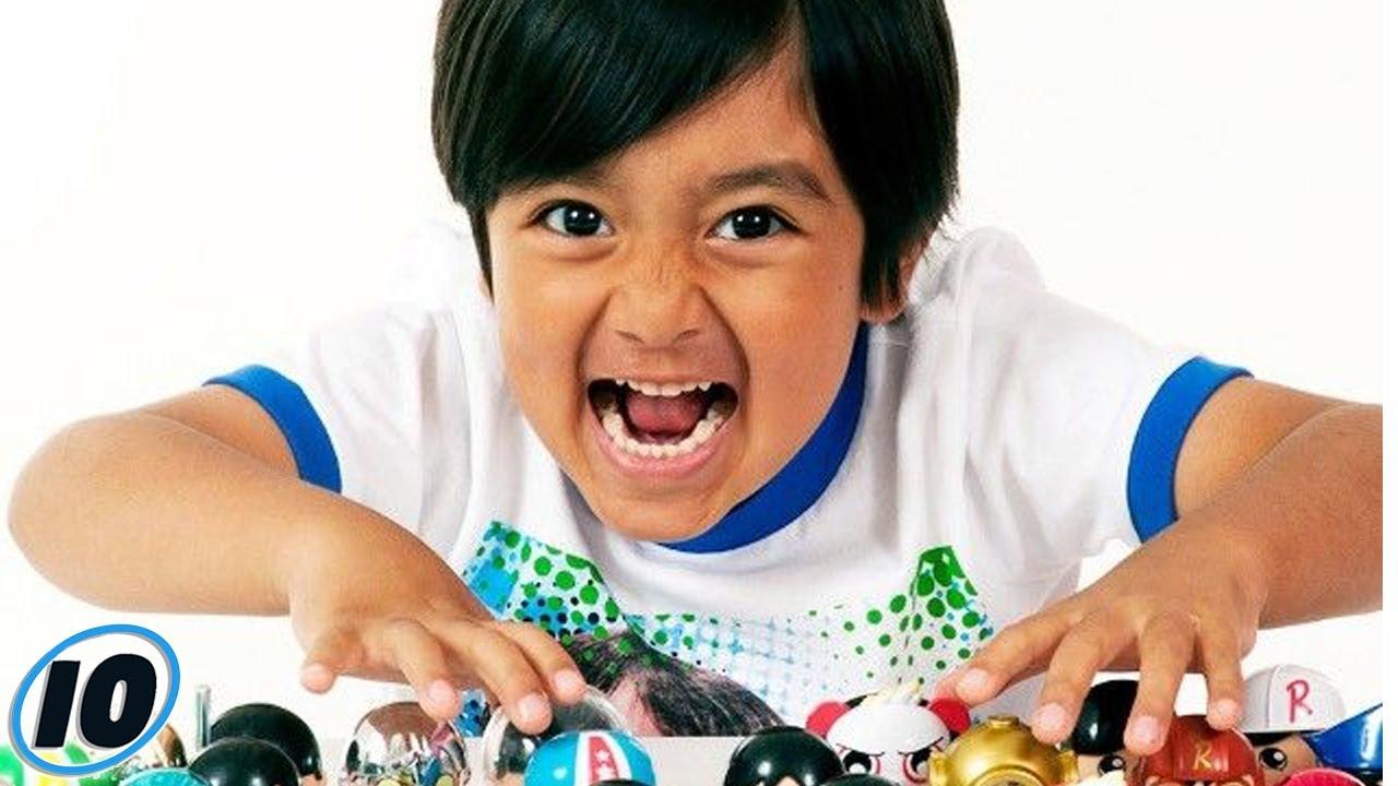 Деца инфлуенсери кои заработуваат повеќе од нивните родители
