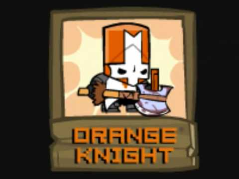 Who is orange caped knight