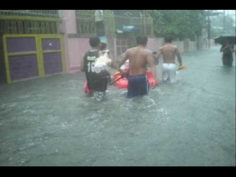 Typhoon Ondoy in Mandaluyong City, Philippines Part 3/14