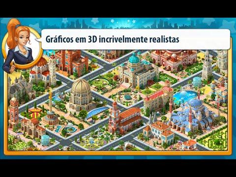 O jogo de construção nº 1 Megapolis Windows Phone