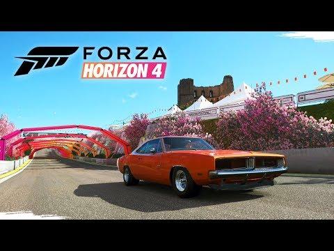 FORZA HORIZON 4 - Gameplay da Demo no Xbox One X | Modo Desempenho Ativado!