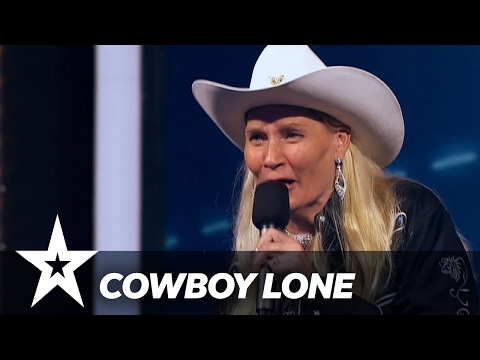 Cowboy Lone | Danmark Har Talent 2017 | Audition 4