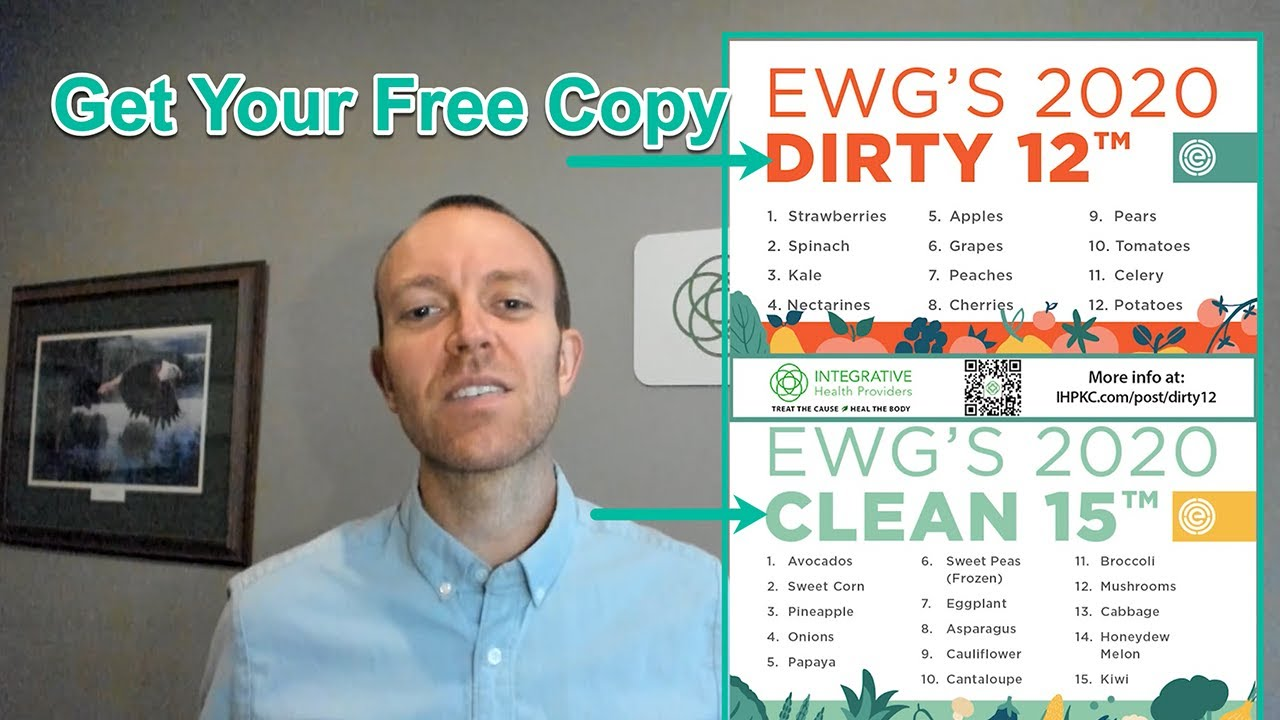 EWG's Dirty Dozen & Clean Fifteen for 2020!