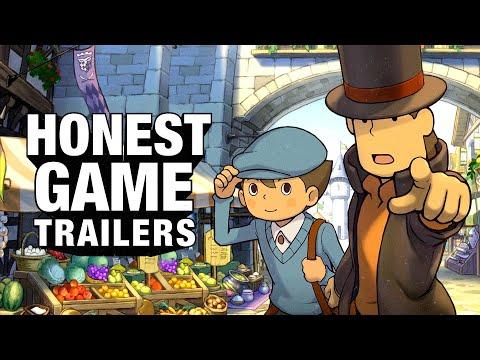 Honest Game Trailers   Professor Layton