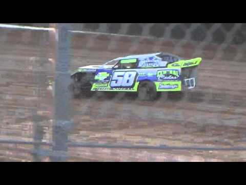 Ark La Tex Speedway limited modified hot laps 3 tootsie smith 2015