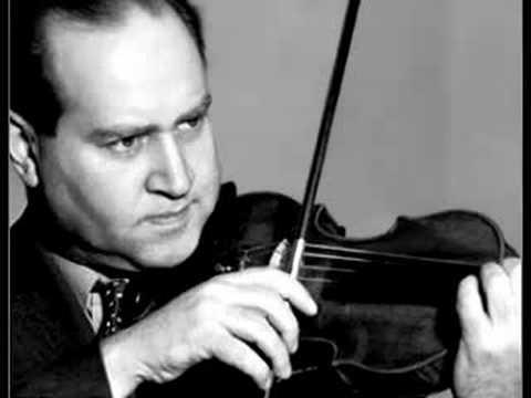 David Oistrakh - Khachaturian Violin Concerto (3rd mov)