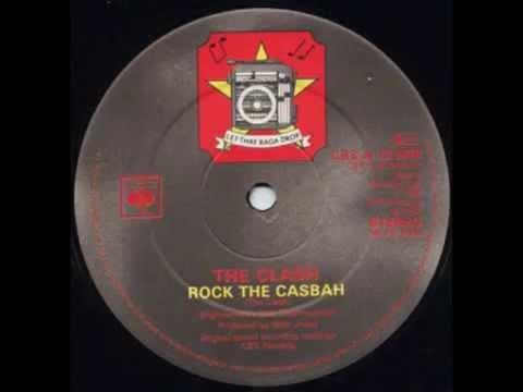 "The Clash - Rock The Casbah (12"" Inch Bob Clearmountain Version)"