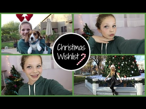 Christmas Wishlist 2014!