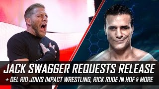 Jack Swagger Requests Release from WWE, Ravishing Rick Rude in HOF & More (Smack Talk 275 Hot Tags)