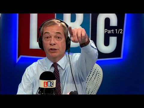 The Nigel Farage Show: Was Theresa May wrong to not have a vote? Part 1/2 LBC - 15th April 2018