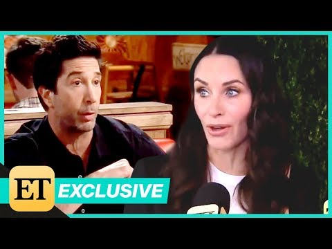 Courteney Cox Reflects on the 'Best ' 'Friends' and Old Pal David Schwimmer Exclusive