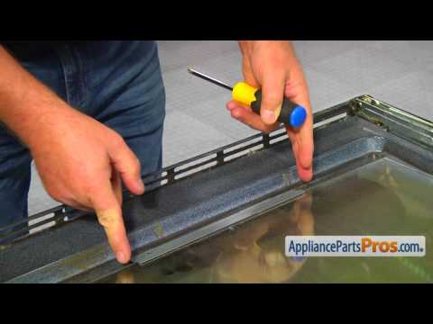 Oven/Microwave Combo Inner Oven Door Glass (Part #WP4449263) - How To Replace