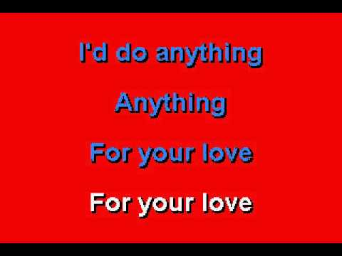 Eric Clapton -  Anything For Your Love - Karaoke