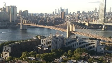 Live NYC Brooklyn Bridge & Manhattan cam