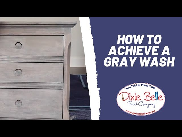 How To Achieve A Gray Wash Christina, Color Wash Painting Furniture