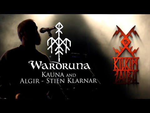 "WARDRUNA - ""Kauna"" and ""Algir - Stien Klarnar"" live at KILKIM ŽAIBU 15"