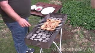 Рецепт - Шашлык из свиного филе от ВидеоКулинарии