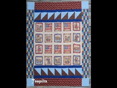 Panel Quilts - Donated Fabrics