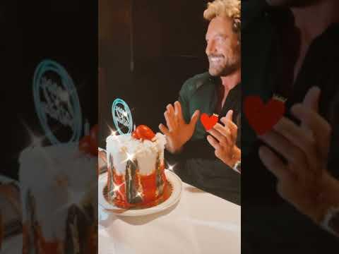 Gabriel Soto festeja su cumpleaños