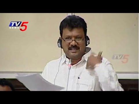 Tenali Sravankumar Speech on CRDA Bill in Assembly : TV5 News