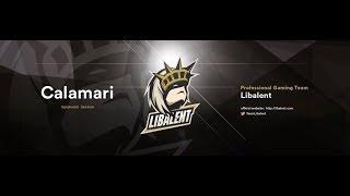 Calamariオンライン予選一位リグマ最高2718!!!!【くろすっω・)つ視点】 thumbnail
